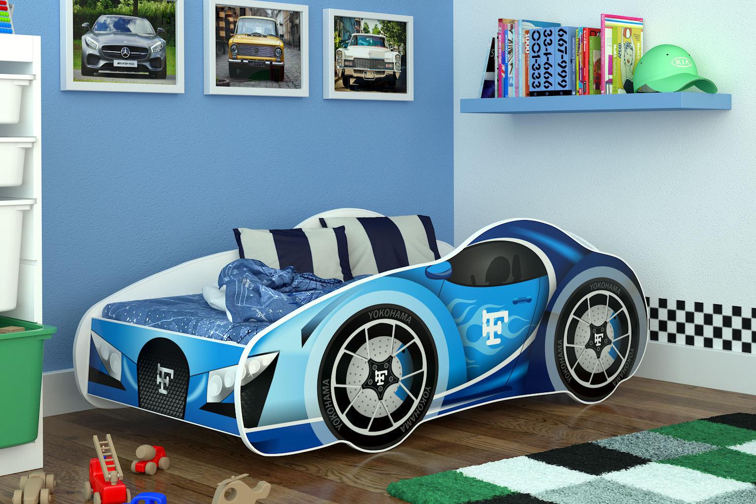meubles lit voiture pour enfant matelas bonne qualit livraison gratuit rapide ebay. Black Bedroom Furniture Sets. Home Design Ideas